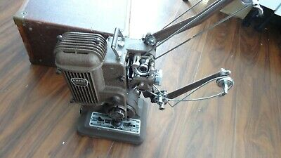 Ampro 16 Mm Film Projector With Its Lens