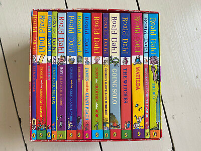 Roald Dahl 15 Books Set Phizz Whizzing Collection Box Paperback Bundle