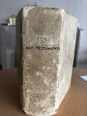 1541 (Dated) New Testament in Latin. Peter Schoeffer the Younger. Venice.