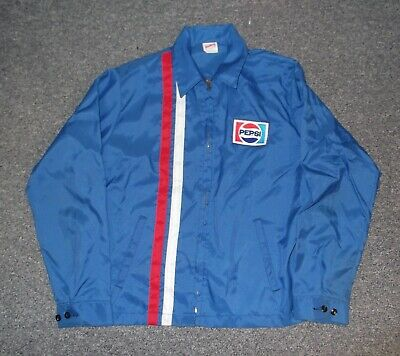 authentic Pepsi employee Jacket vintage old from the 80's Pepsi cola soda pop
