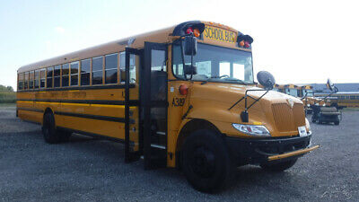 USED 2014 IC CE 72 Passenger School bus #127714WT