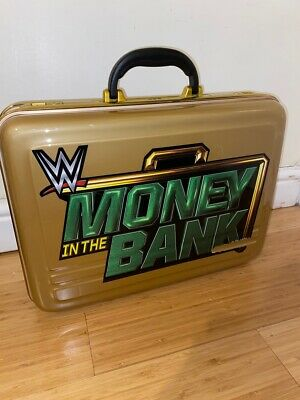 Official WWE Money in the Bank Briefcase Full Size Wrestling Collectable Replica