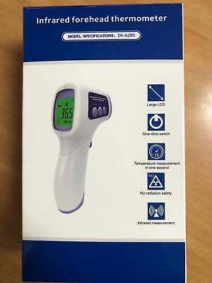 Medical NON-CONTACT Body Forehead IR Infrared Laser Digital Thermometer