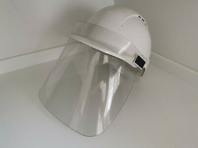 Attachable Hard Hat Visors 5pck, Face Shield, Personal Protection Equipment PPE
