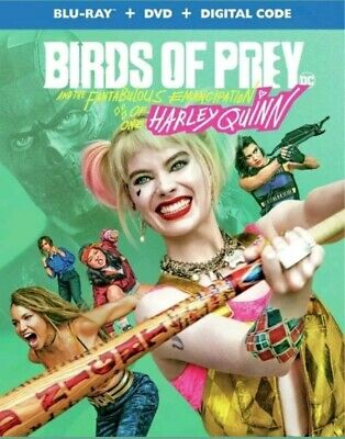 Birds of Prey & Harley Quinn Blu-ray (Disc Only) No Case 2020
