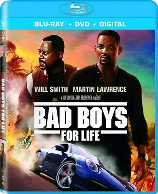 Bad Boys for Life Blu-ray (Disc Only) No Case 2020 Will Smith