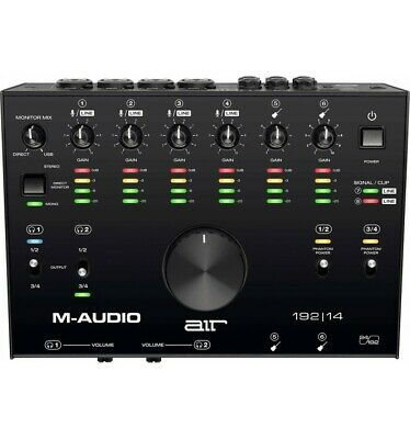 M-Audio AIR192X14 - Interface audio USB MIDI - 8 entrées / 4 sorties