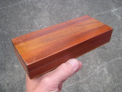 * Nice good quality MAHOGANY BOX in good used condition. Pencils box ?