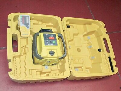!!! Horizontal Topcom Rl-H4C Self- Leveling Rotary Laser Level With Receiver !!!