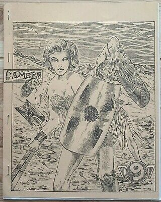 Rare 1958 Sci Fi Fanzine CAMBER #9 George Metzger Vintage Science Fiction Zine