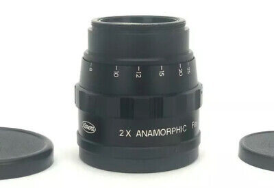 RARE Kowa 2X anamorphic lens made by Kowa for Bell and Howell