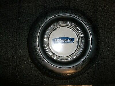 Vintage BF Goodrich Lifesaver Radial Tire Ashtray