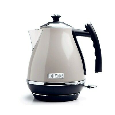 Haden Cotswold Cordless Kitchen Kettle - 1.7 Litre - Putty