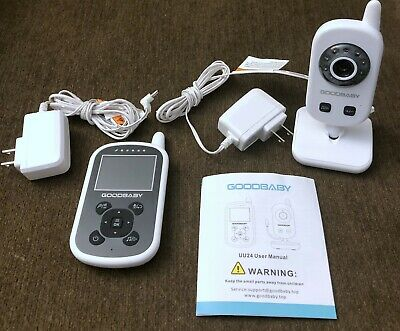 GoodBaby UU24 Video Baby Monitor with Camera and Audio - White