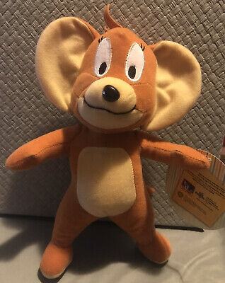 "'Tom & Jerry' Mouse Plush 9"" Small Fast Shipping USA"