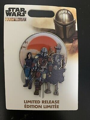 2019 Limited Release Disney Star Wars The Mandalorian Pin  FREE SHIPPING!!!