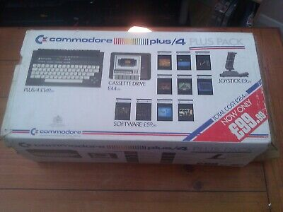 Commodore Plus 4, fully boxed