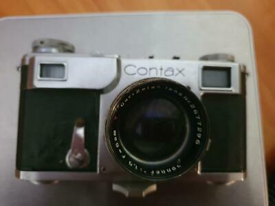 used Contax Camera  With  CarlZeiss Jena 1.5 F=5cm Lens