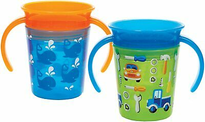 Munchkin Miracle Trainer Cup Decor 360 Sippy Cup Anti Spill Baby Cup 6OZ