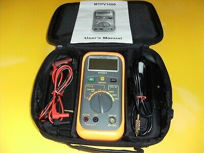 Blue Point Multimeter in Carrying Case.  MTPV1000