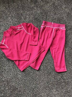 Girls Tog24 Thermal Top & Bottoms Set 3-4 Years Never Worn