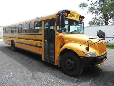 USED 2012 IC CE 71 Passenger School Bus 118430K3