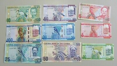 Gambia Currency Set