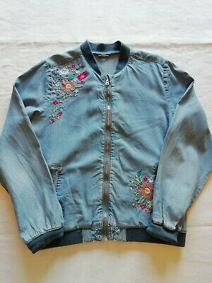 George Girls Denim Jacket Age 11 - 12 Years