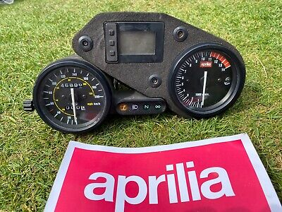 Aprilia RS125 Clocks - 46896kms (29139 Miles) RS 125 Clock Speedo Dash