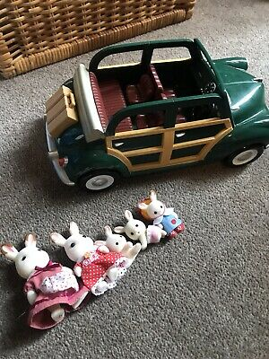 Sylvanian Families Vehicle green