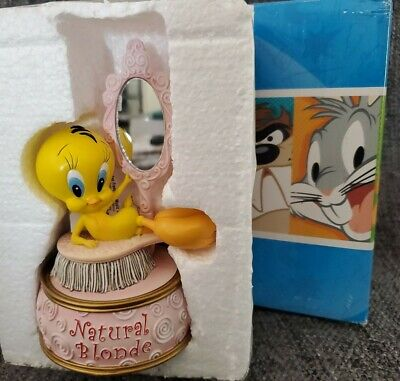 Warner Bros Looney Tunes Tweety Bird NATURAL BLONDE Music box
