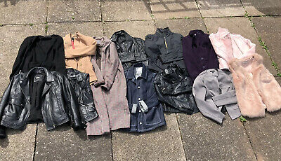 Job Lot Womens Ladies Clothing Jackets Mixed Sizes High Street Brands