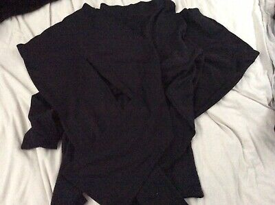 Girls black jogging bottoms 3 Pairs 10-11 Years