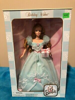 Barbie Birthday Wishes Collector Edition 2nd in Series 1999 Mattel - New