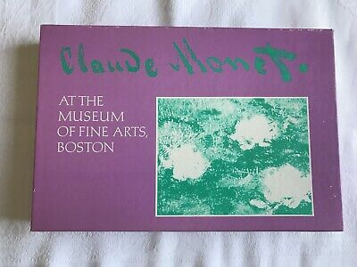 Claude Monet at The Museum of Fine Arts Boston (41) Vintage Note Cards