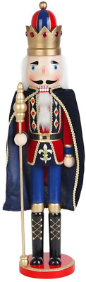 Jeco 24 Inch Nutcracker King with Cape