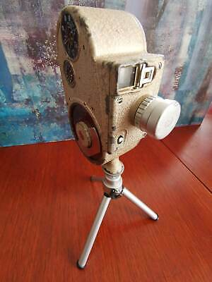 Vintage Bell & Howell Model 605 Double Run Eight 8mm film movie cine camera