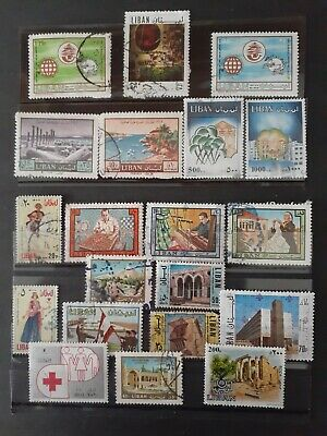 Used Lebanese Stamps #1