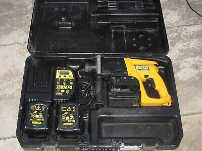 Dewalt Cordless Hammer SDS Type 3 DW005 24v With Charger & 2 Batteries And Case