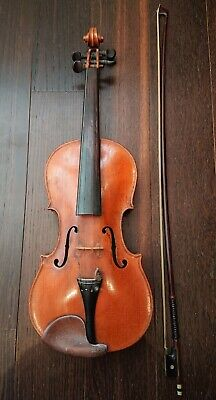 Vintage 3/4 violin and bow