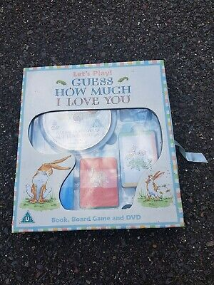 Guess How Much I Love You Set Dvd, Game Book gift