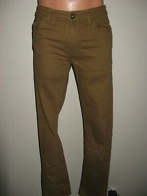 Worn Once Boys H & M Skinny Stretch Tan Carame Brown Skinny Leg Jeans Age 13-14