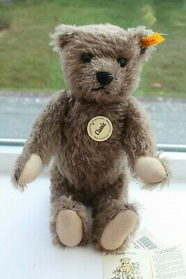 """Super Steiff Bear Mohair 12"""" Long  Never Played With All Tags In Place."""
