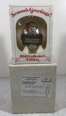1989 ~ Campbell Kids Collector's Edition Campbell Soup Christmas Ornament NIB