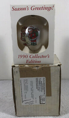 1990 ~ Campbell Kids Collector's Edition Campbell Soup Christmas Ornament NIB