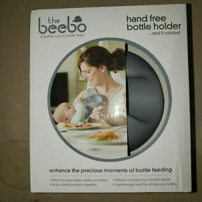 NEW THE BEEBO Hands Free Newborn Infant Milk Bottle Holder Q3