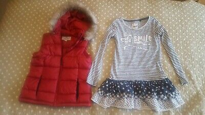 Girls Bundle Peter Storm Waistcoat Tunic NEXT 7-8yrs Great Condition