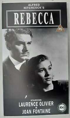 Alfred Hitchcock's Rebecca VHS - Excellent condition