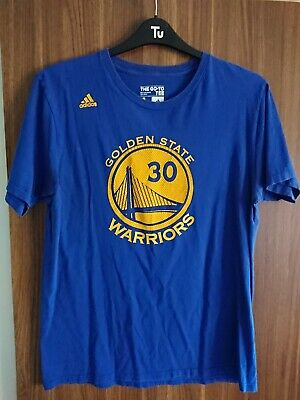 Adidas Steph Curry NBA Golden State Warriors Mens T Shirt Large