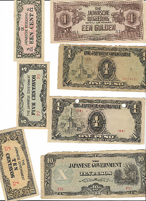 41 (FORTY-ONE)  Japanese Government - World War II 2 Invasion Notes